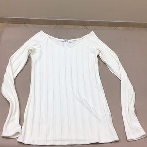 White casual top size medium